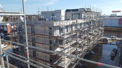 Neubau Wohnkomplex mit 94 Eigentumswohnungen