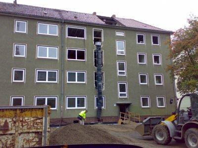 Umbau und Modernisierung Johannes-Lau-Hof 1-6, 1.+2.BA