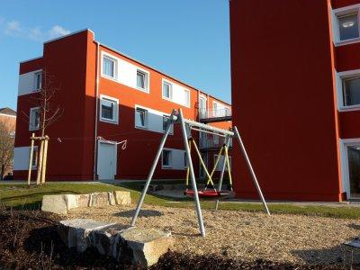 Neubau Flüchtlingsunterkunft Wettbergen