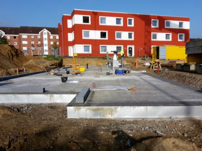 Neubau Flüchtlingsunterkunft Wettbergen (2. BA)