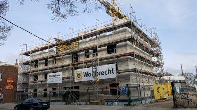 Neubau Flüchtlingswohnheim Jordanstraße