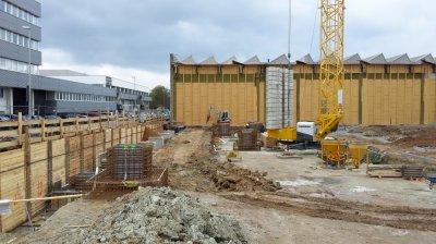 Neubau Produktionshalle Troester