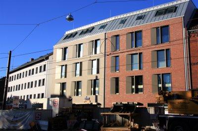 Wohn- und Geschäftshaus Tiergartenstraße (einschl. Tiefgarage)