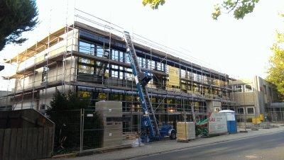 Neubau Erweiterung Verwaltungsgebäude Mayson